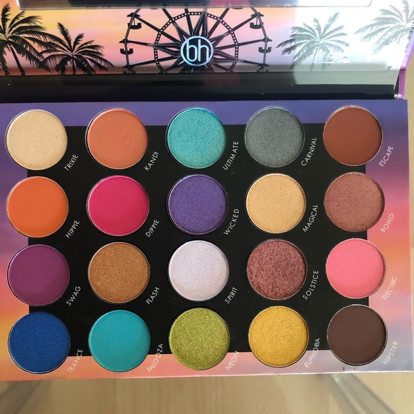 Zodiac 25 Color Eyeshadow And Highlighter Palette by BH Cosmetics #6